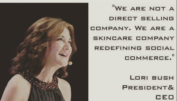 lori bush we aren't a direct selling company